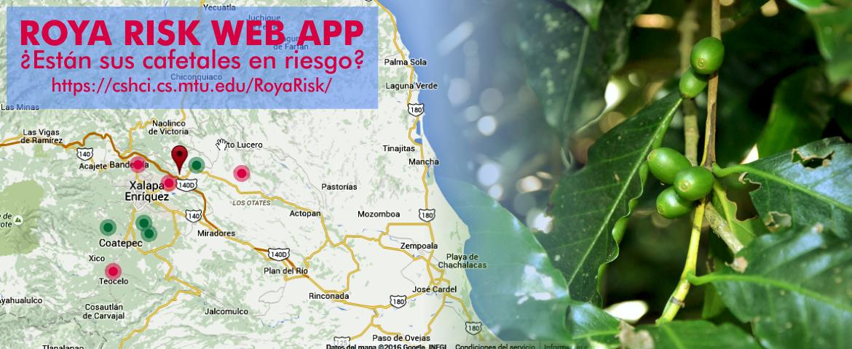 Roya Risk Web app